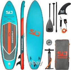 Swonder Premium Inflatable Stand Up Paddle Board 11.6 x 32 with Full SUP Pack
