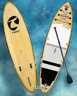 TUSY Inflatable Stand Up Paddle Board 10.6 w Premium SUP Accessories -FREE SHIP