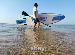 T-SPORT Inflatable Stand Up Paddle Board SUP Accessories Blue Next Day Delivery