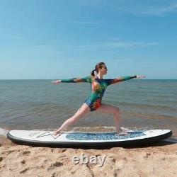 Tabla inflable de stand up Paddle, SUP grueso de 10 con accesorios premium