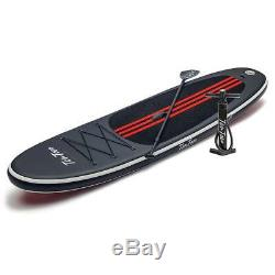 Ten Toes The Weekender Inflatable Stand Up Paddle Board SUP 2018 (Black/Red)