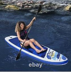 Trusted Convertible Stand Up Paddle Board KAYAK Inflatable Canoeing Surfing