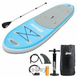 UBOWAY Inflatable Stand Up Paddle Board 6'' Thick with Adjustable Paddle