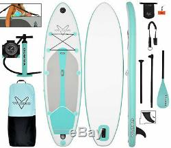 Vilano Journey Inflatable SUP Stand up Paddle Board Kit