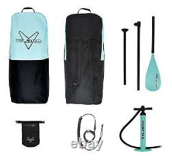 Vilano Navigator 10' 6 Inflatable SUP Stand Up Paddle Board Package