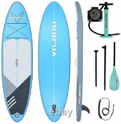 Vilano PathFinder Inflatable SUP Stand Up Paddle Board, Complete KIT Board