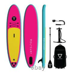 VoltSurf 11 Foot Class Act Inflatable SUP Stand Up Paddle Board Kit with Pump