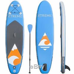 Xtreme backpack water sport blue 10ft Inflatable SUP Stand Up Paddleboard Kayak